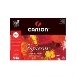 Blok Canson FIGUERAS 290g 19x25cm