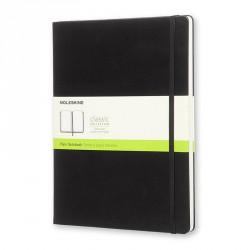 Notes Moleskine XL(19X25)Classic czarny gładki