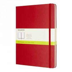Notes Moleskine XL(19X25)Classic czerwony gładki