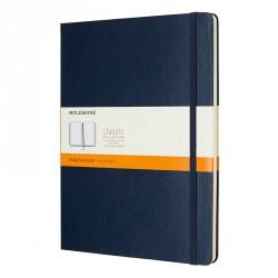 Notes Moleskine XL(19X25)Classic szafir linia