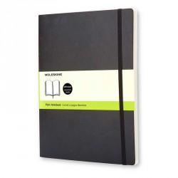 Notes MoleskineXL(19x25) Soft czarny gładki