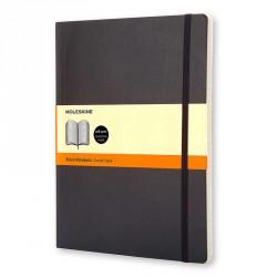 Notes MoleskineXL(19x25) Soft czarny linia