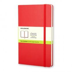 Notes Moleskine L(13x21) Hard  czerwony gładki