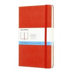 Notes Moleskine L(13x21) Classic czerwony kropki