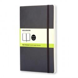 Notes Moleskine L(13x21) Soft czarny gładki