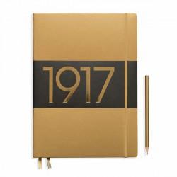 Notatnik LEUCHTTURM1917 A4+ metalic złoty gładki
