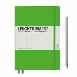 Notatnik LEUCHTTURM1917 A5 249st.freshgreen gładki