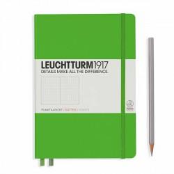 Notatnik LEUCHTTURM1917 A5 249st.freshgreen kropka
