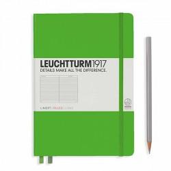Notatnik LEUCHTTURM1917 A5 249st.freshgreen linia