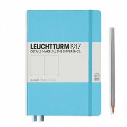 Notatnik LEUCHTTURM1917 A5 249st.ice blue gładki