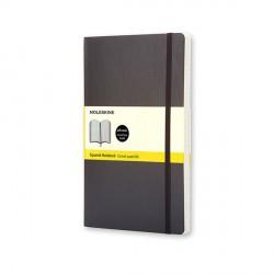 Notes Moleskine P(9x14) Soft czarny kratka