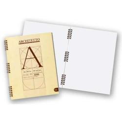 Kołonotatnik Architetto A4 Gładki 100g/m2 40 karte