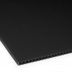 Płyta PP kanalikowa 100x70 czarna