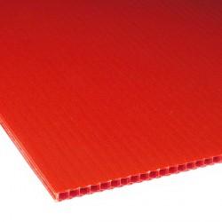 Płyta PP kanalikowa 100x70 czerwona