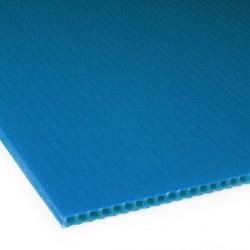 Płyta PP kanalikowa 100x70 niebieska