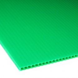 Płyta PP kanalikowa 100x70 zielona