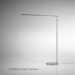 Lampa LUMELINE Sunray Artist  90cm silver