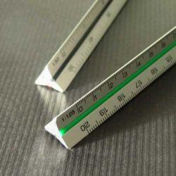 Skalówka Leniar aluminiowa 10cm.