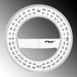Kątomierz Leniar 360st.12cm