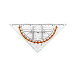 Ekierka Leniar GEO  z uchwytem 16cm