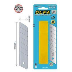 Ostrza OLFA HB-5B segmentowe 25mm