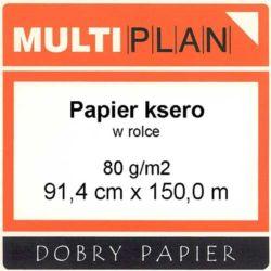 Papier Multiplan ksero/laser 80g 914mm 150m