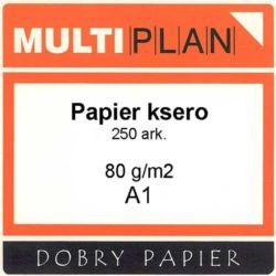 Papier Multiplan ksero/laser 80g A1 250ark