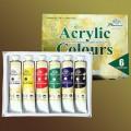 Farby akrylowe PHOENIX 22ml kpl.6szt.