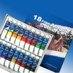Farby akrylowe PHOENIX 12ml kpl.18szt.