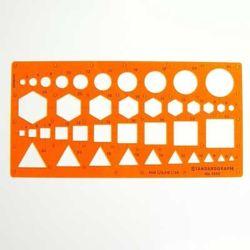 Szablon Standardgraph/Leniar 1350 figury kombi