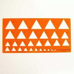 Szablon Standardgraph 1351 trójkąty