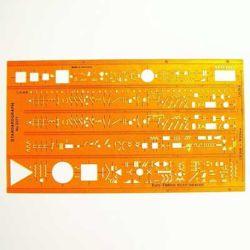 Szablon Standardgraph 3371 Euro-Elektro