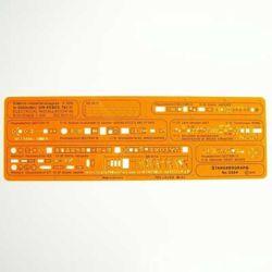Szablon Standardgraph 3384 Elektro-Instal. 1:100