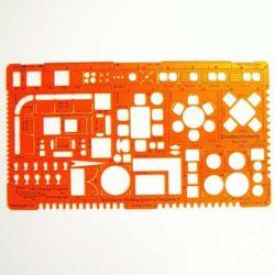 Szablon Standardgraph/Lenia 7301 Architekt II 1:50