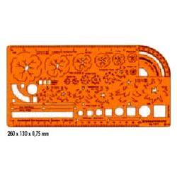 Szablon Standardgraph/Leniar 7311 Zieleń