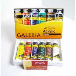 Farby akrylowe Galeria 60ml kpl.6szt.