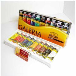 Farby akrylowe Galeria 60ml kpl.10szt.