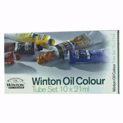 Farby olejne Winton 21ml.-kpl.BASIC 10szt.