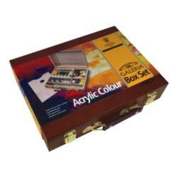 Farby akrylowe Galeria 60ml kpl.8szt.w kasecie