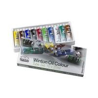 farby olejne w kompletach