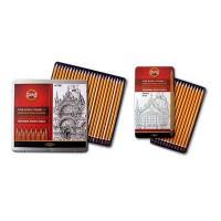 Ołówki w kompletach